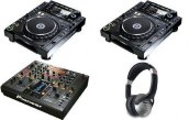 2X Pioneer CDJ-2000 Turntable & 1x DJM-2000 Mixer Package…..$3000USD объявление