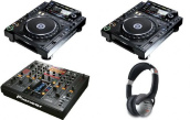 2 x PIONEER CDJ-2000 Nexus and 1 x DJM-2000 Nexus DJ MIXER for just $3400USD объявление