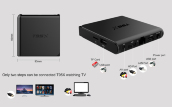 интернет TV BOX Android6.0 mini pc box S905X T95X cloud IPTV BOX KODI 16.1 объявление