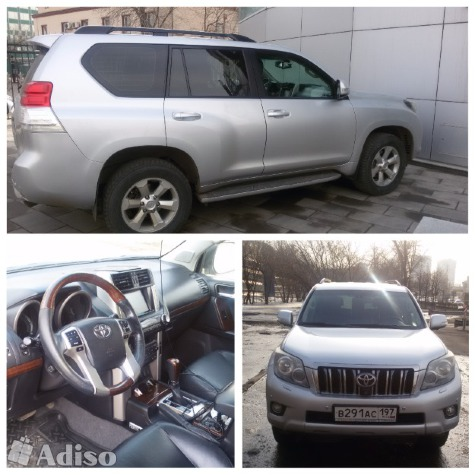 Автомобиль TOYOTA LAND CRUISER 150 фото к объявлению